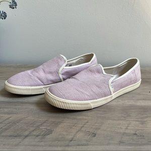 Toms Lavender Cloud Heritage Sneaker Size 8
